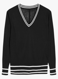 Next V-neck Black Sweater